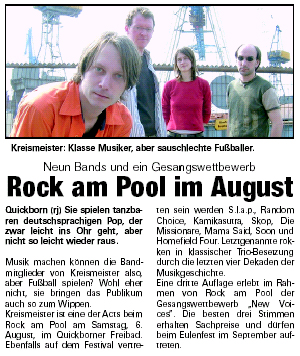 Rock am Pool